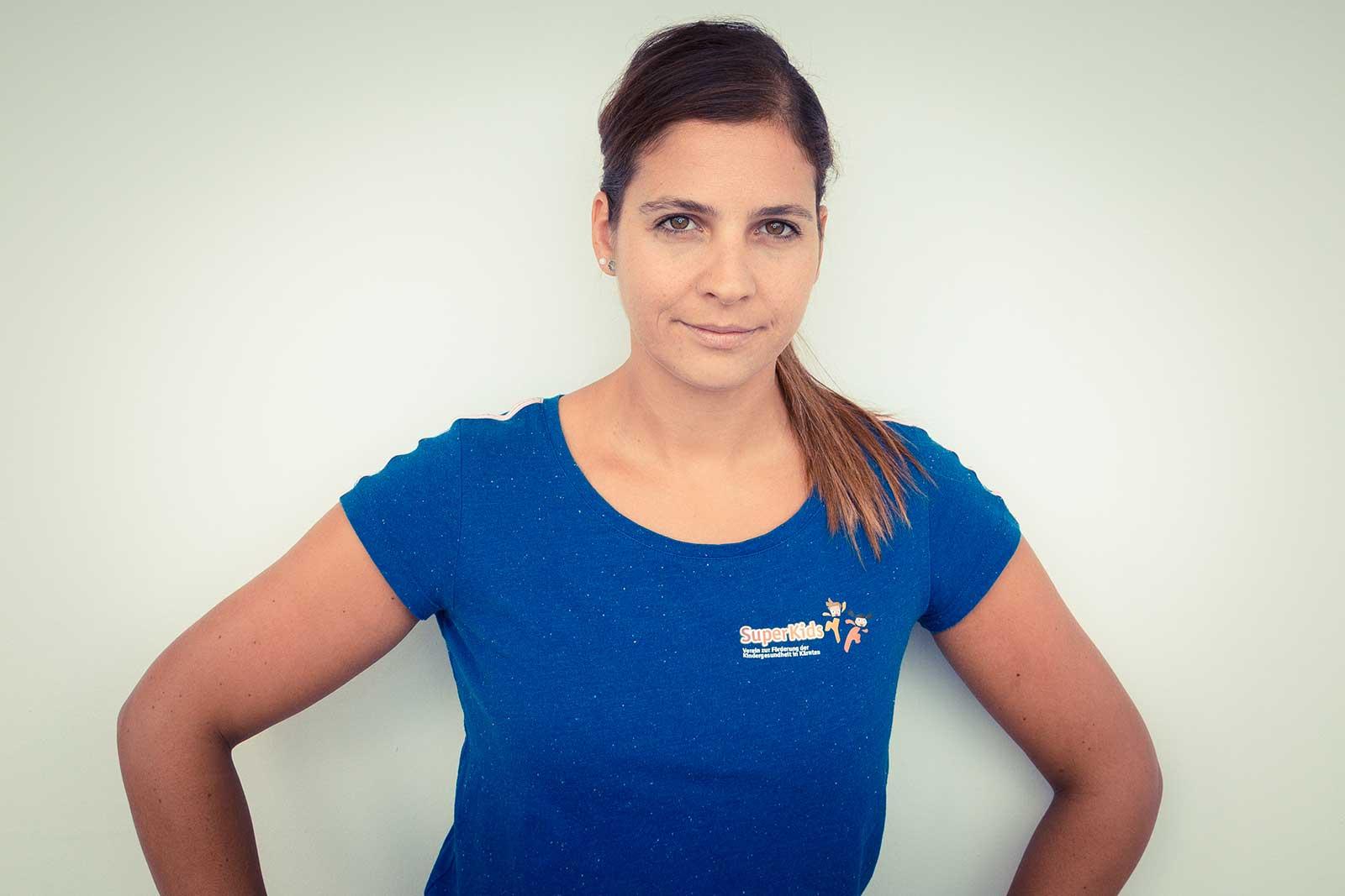 Trainerin Tanja Hasitzka